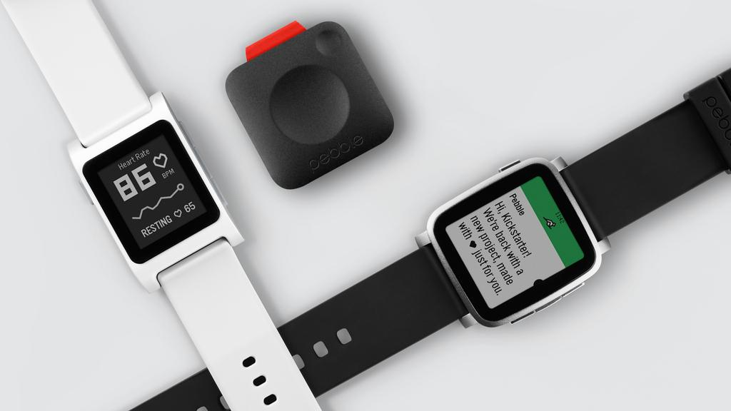 Left to right: Pebble 2, Core, Time 2