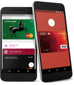 Android Pay: HSBC