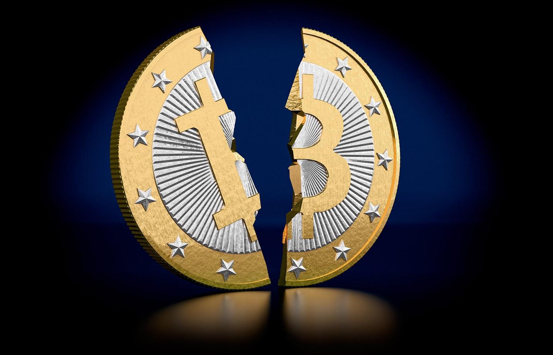 Bitcoin avoids split into two blockchains