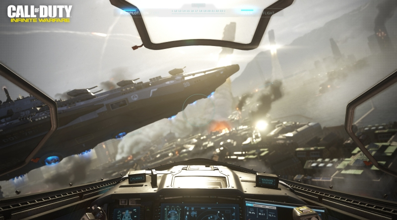 Call of Duty: Infinite Warfare will let you pilot a space fighter.