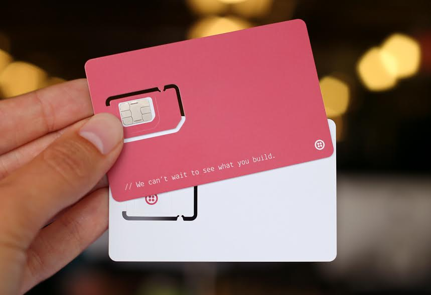 Twilio's programmable wireless SIM cards that allow developers to tap into cellular data for their apps.