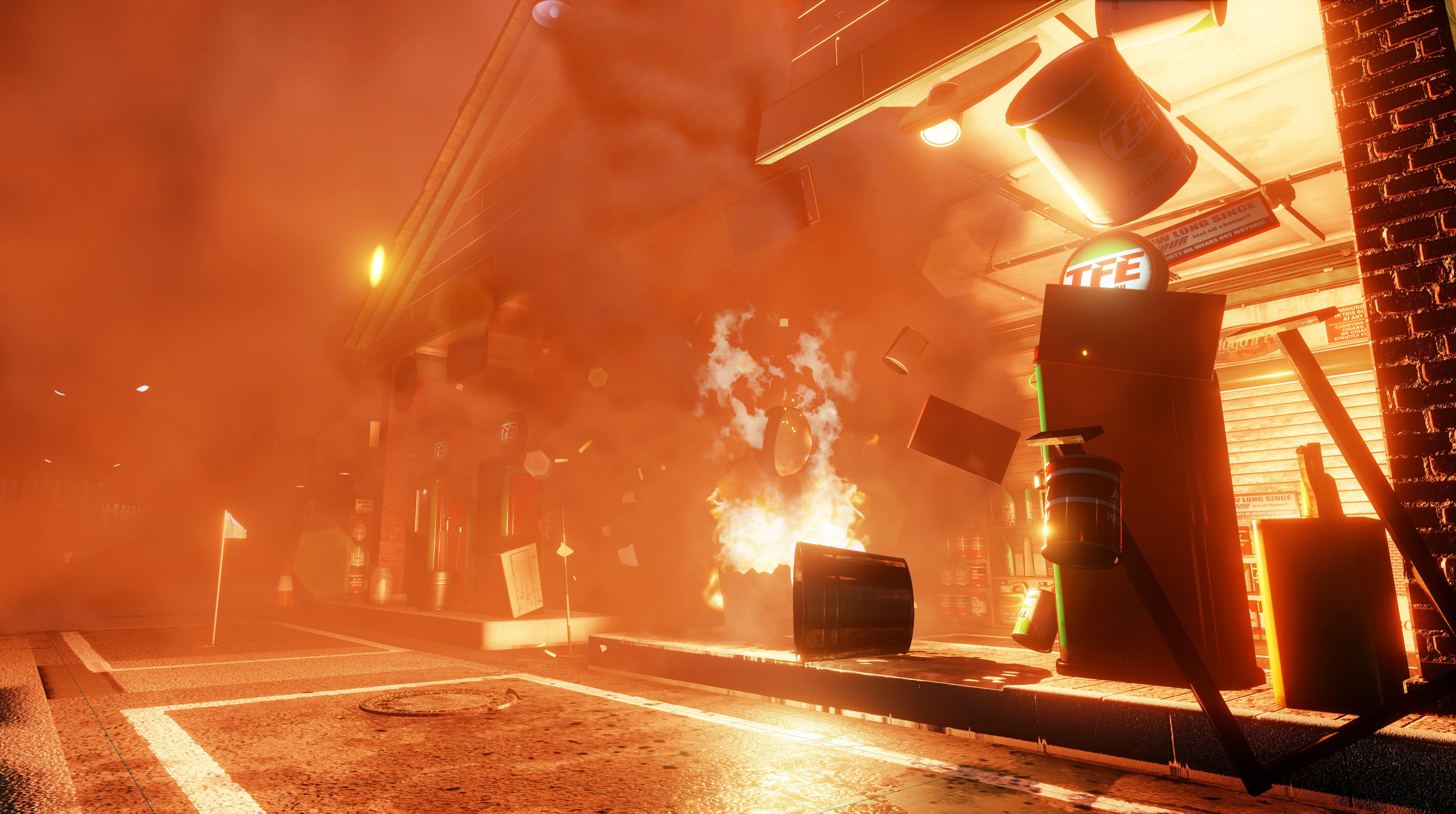 Dangerous Golf is the game where you can blow up a garage with a golf ball.