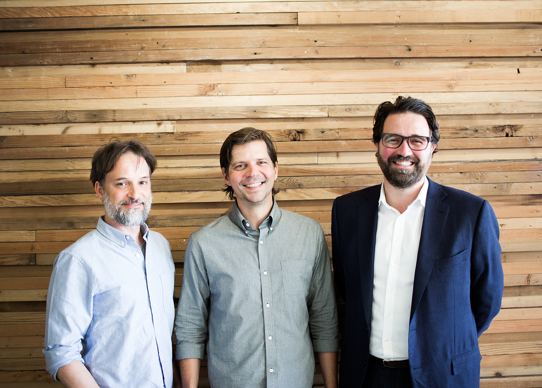 Zendesk cofounders Alexander Aghassipour, Morten Primdahl, and Mikkel Svane