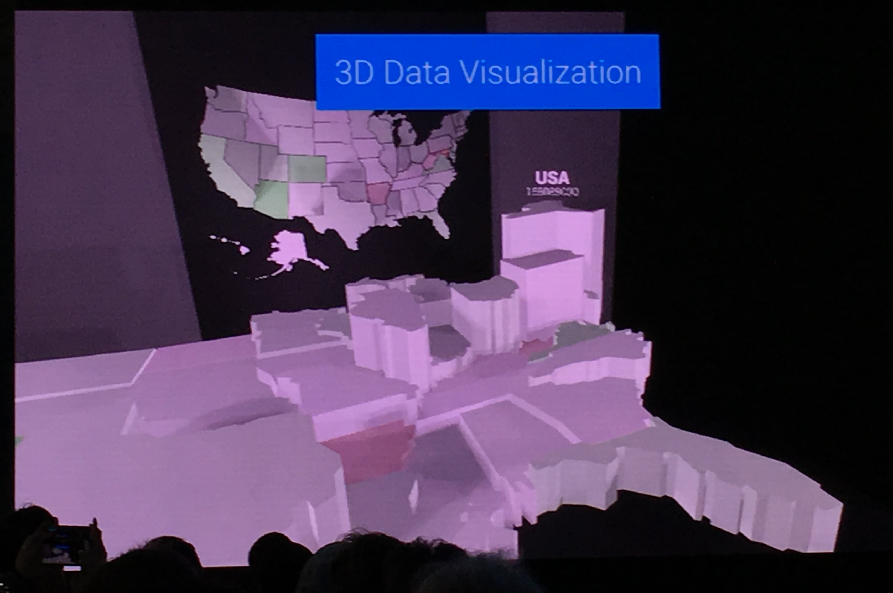 Data visualization with Daydream.