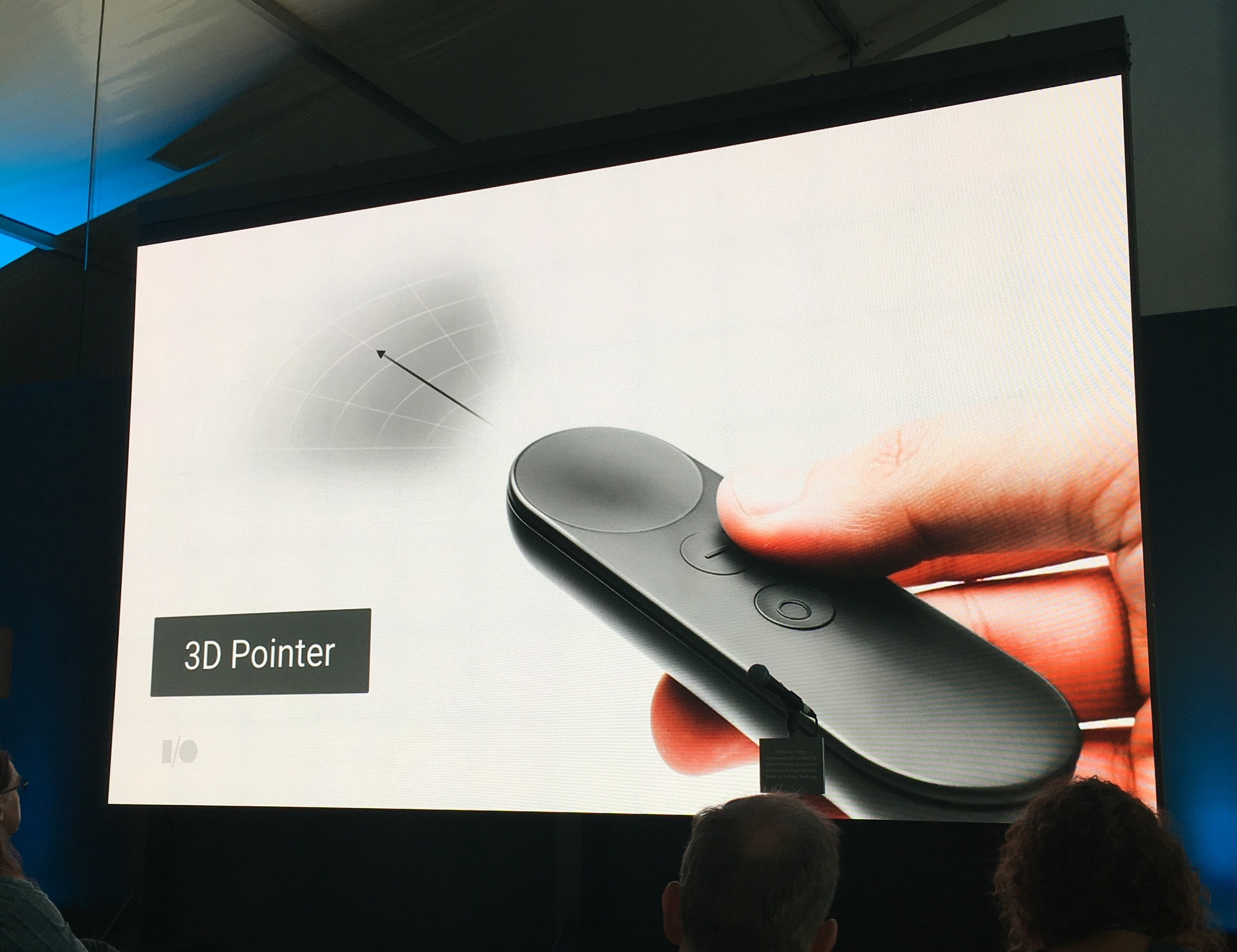 The Google Daydream controller.