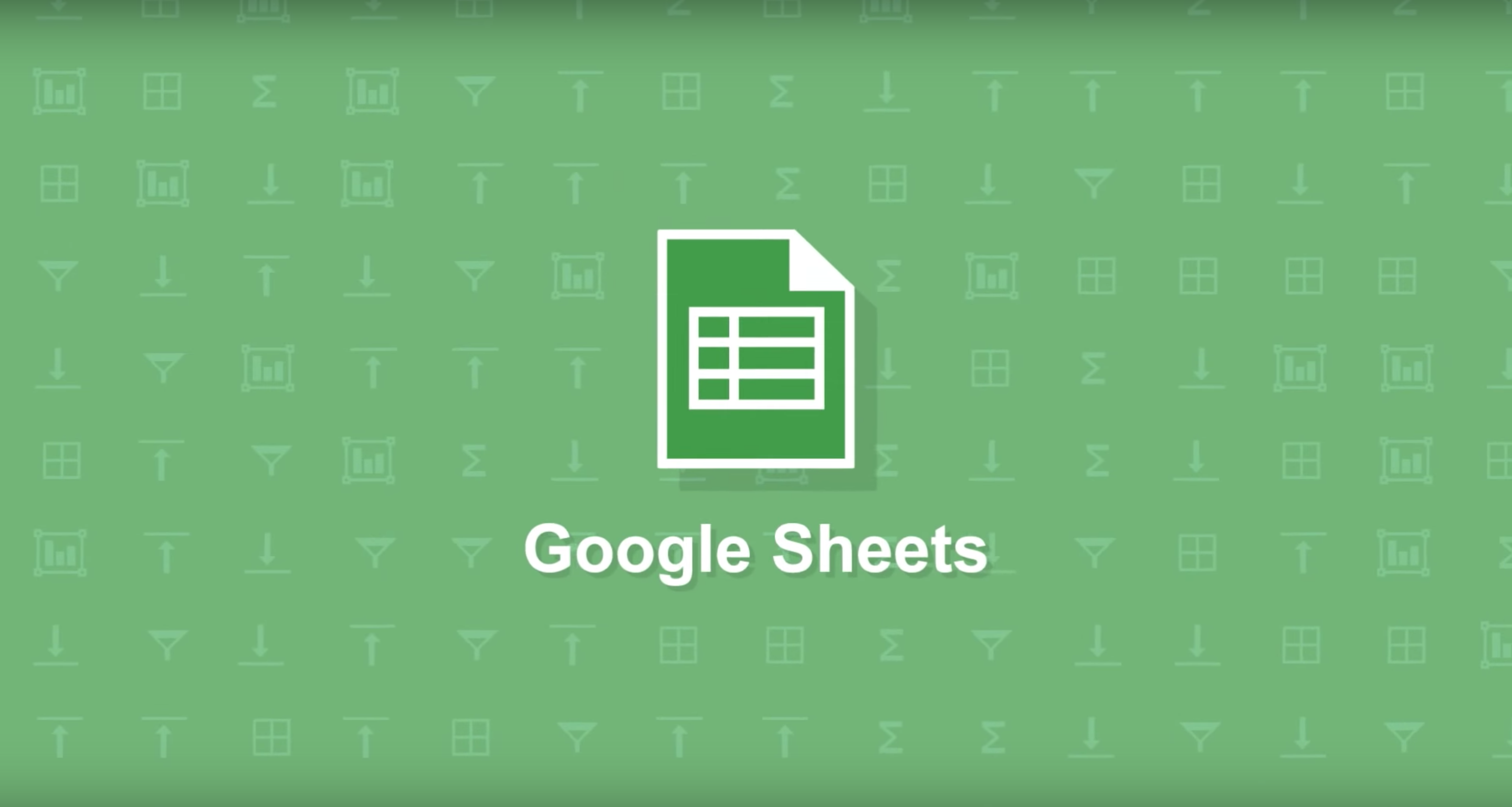 Google Sheets uses machine learning to built you better charts