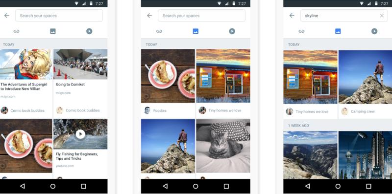Google: Spaces app