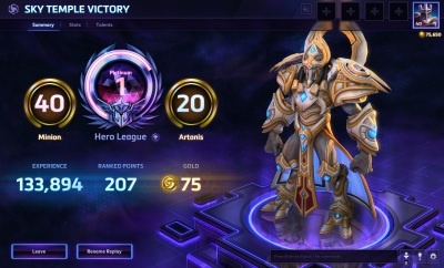 Heroes Of The Storm Overhauls Competitive Rankings Adds Two New Warcraft Characters