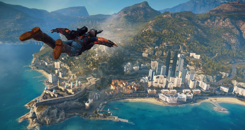 Just Cause 3 has some new DLC coming that makes land mech combat goofy.
