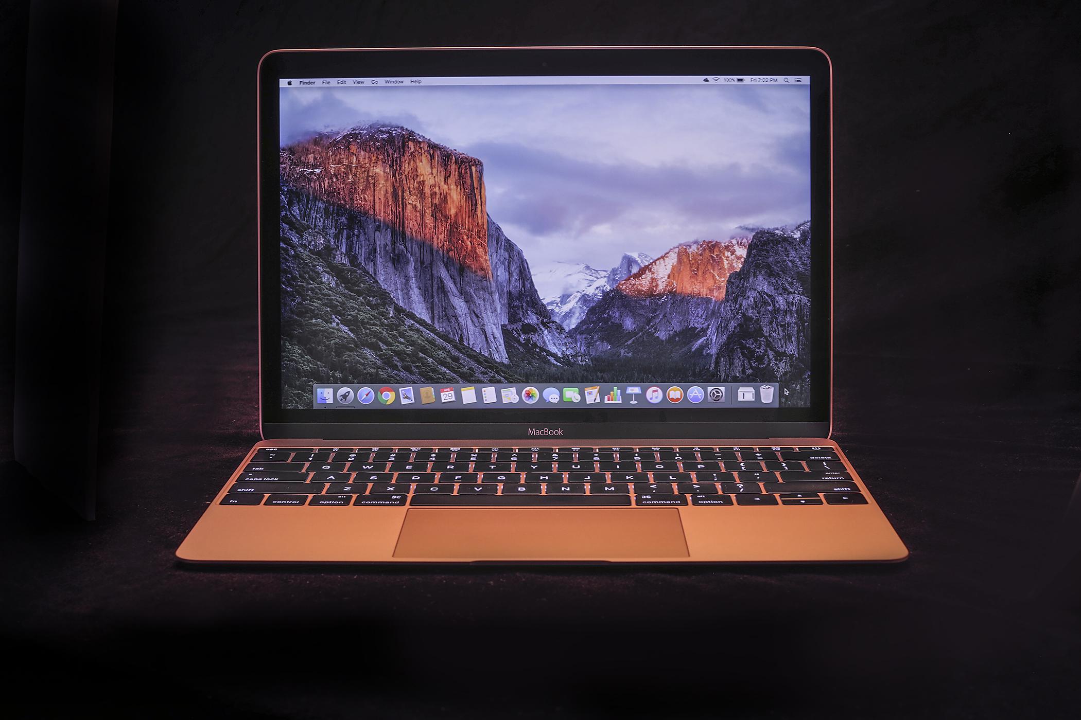 The MacBook.