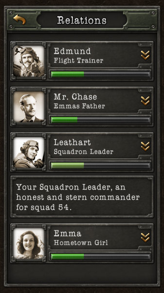 Your relationships factor into your tale in Hearts of Iron: War Stories.