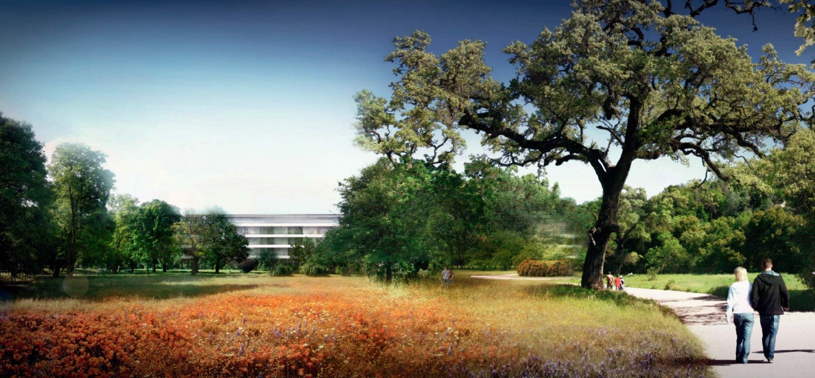 Apple Campus 2 rendering