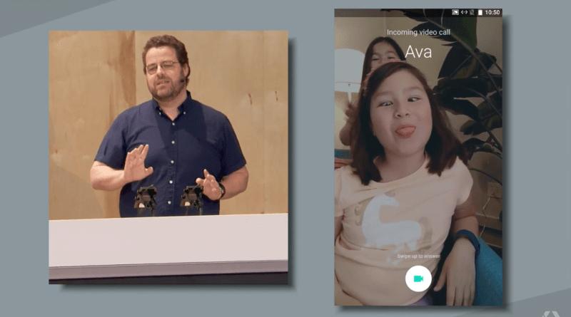 Google's Duo video calling app.