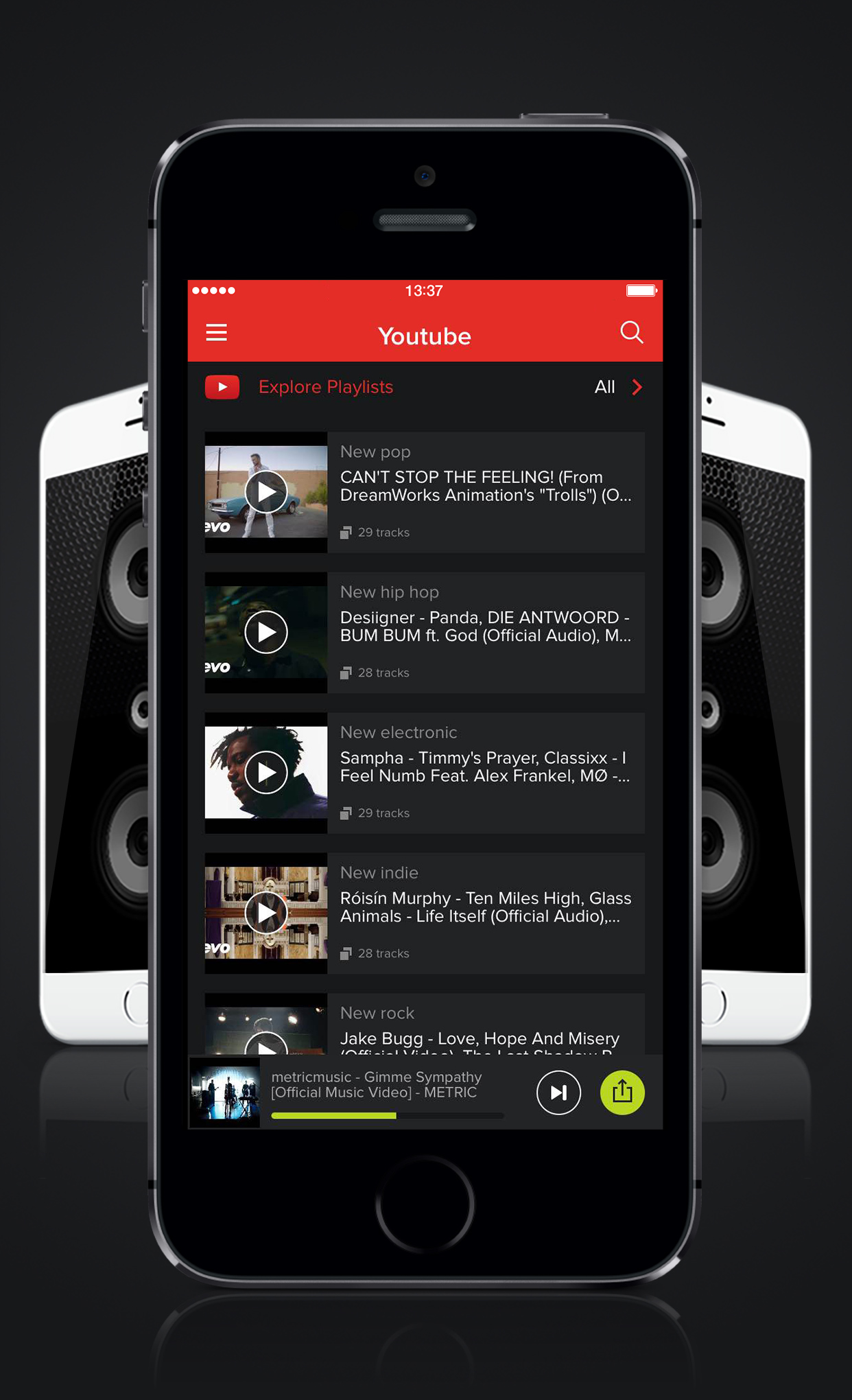 AmpMe and YouTube