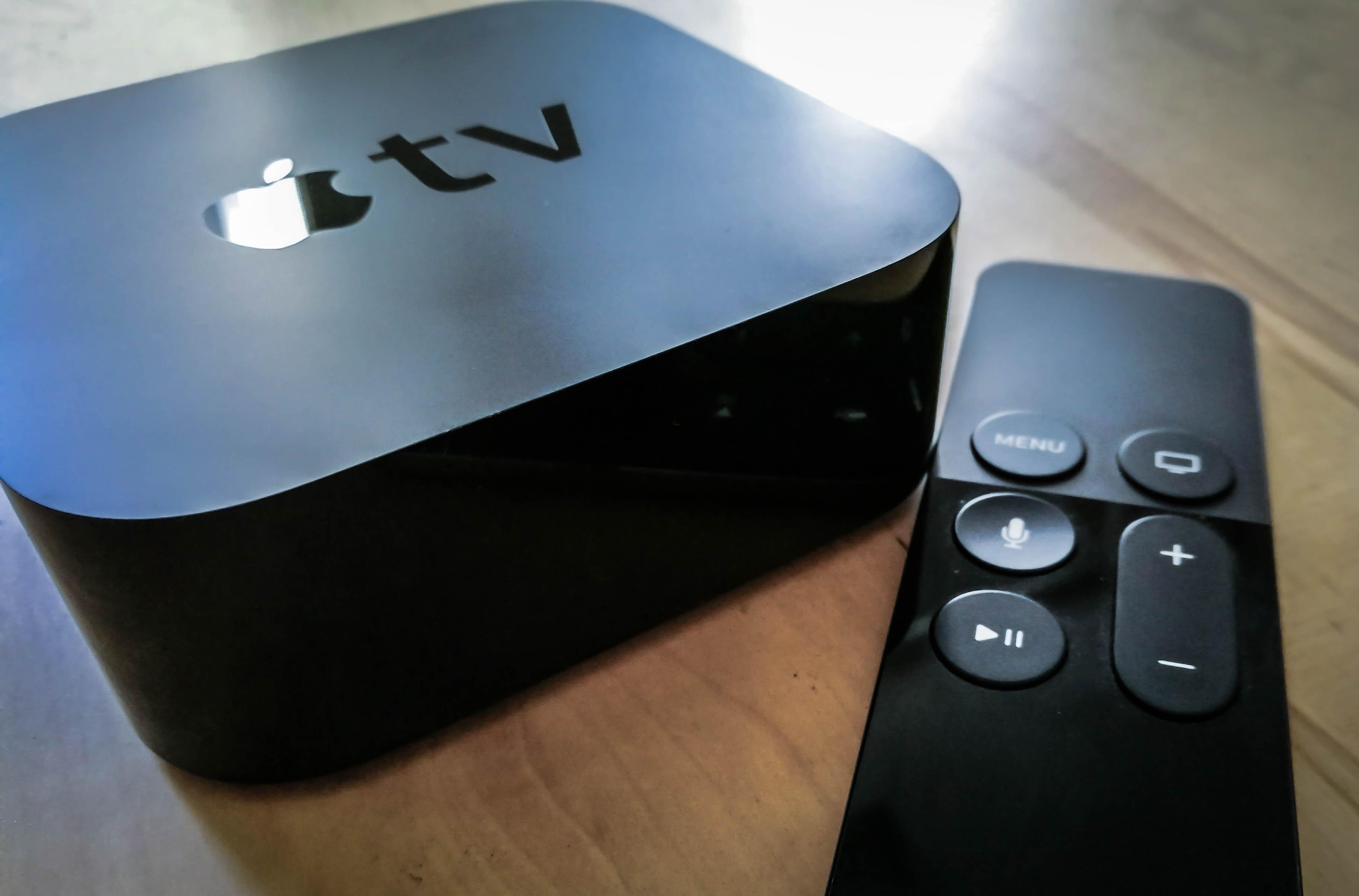 Source new apple tv will compete with amazon echo venturebeat - Tv und mediamobel ...