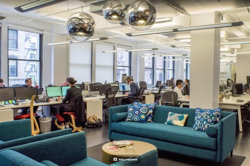 Arkadium's offices in New York