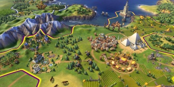 Civ VI was a large contributor to Take-Two's net revenue growth