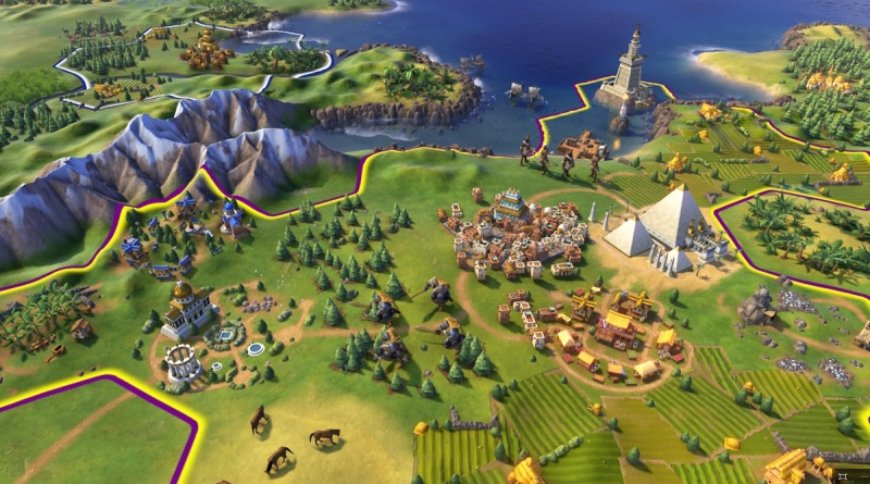 Civilization VI will force you to decide what a particular city will specialize in.