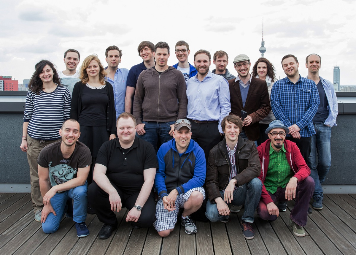 Dojo Madness team in Berlin