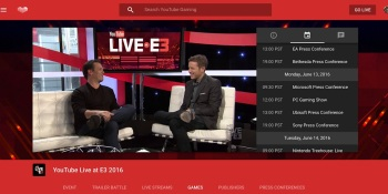 YouTube Gaming teams up with host Geoff Keighley for E3