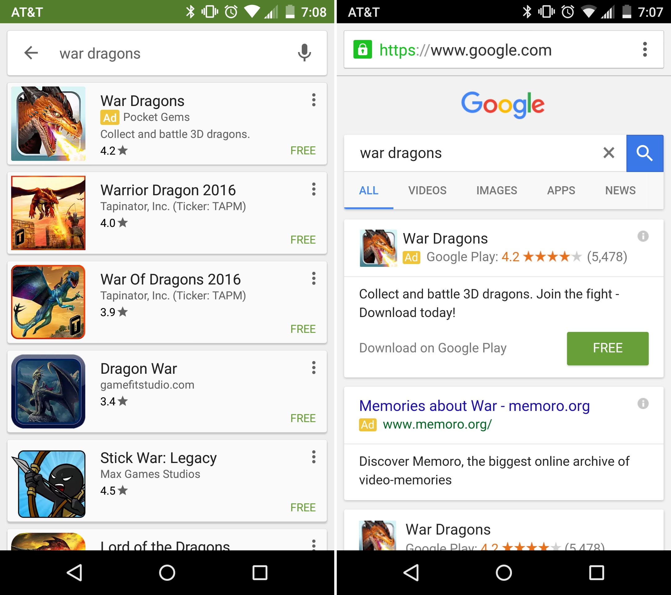 Google announces Universal App Campaigns for iOS and 2