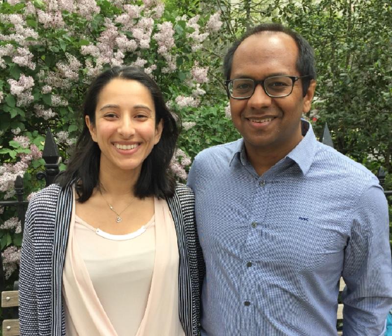 Aneela and Sameer Kumar, founders of HabitAware