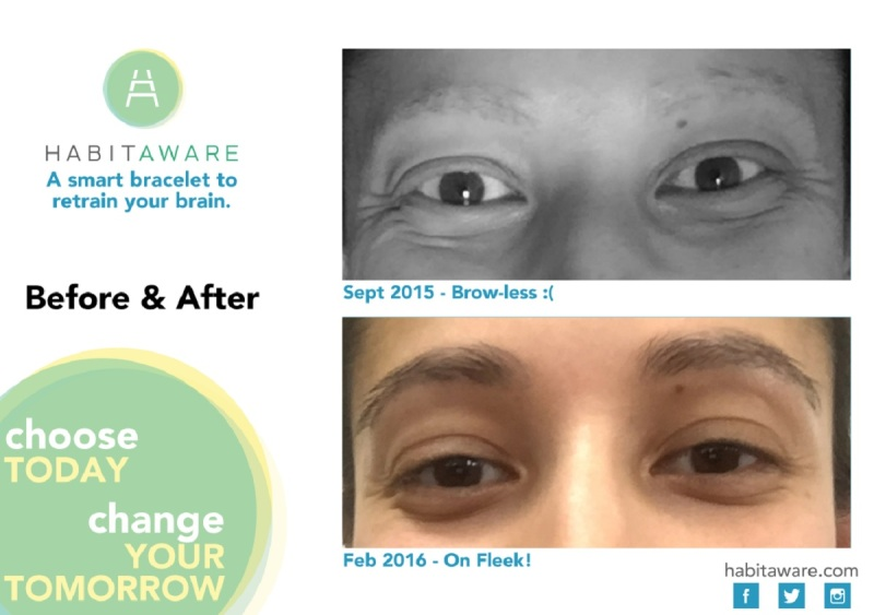 Aneela Kumar, before and after she started using Liv.