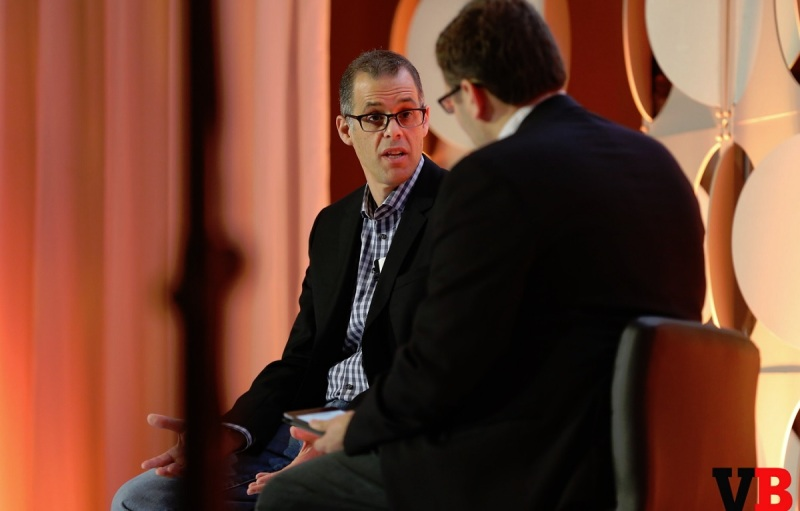 Peter Phillips of Marvel and Ian Sherr of CNet at GamesBeat Summit 2016.
