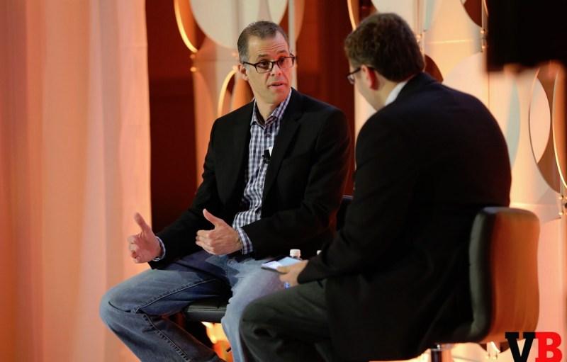 Peter Phillips and Ian Sherr at GamesBeat Summit 2016.