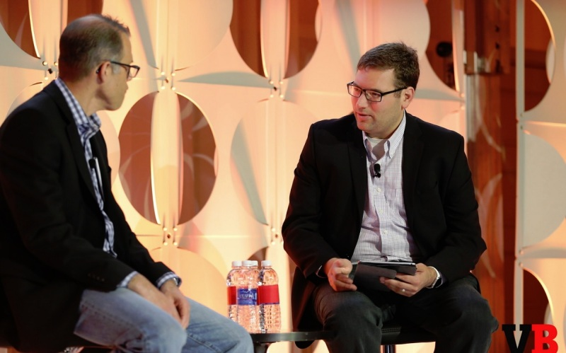 Peter Phillips of Marvel with Ian Sherr, executive editor at CNet