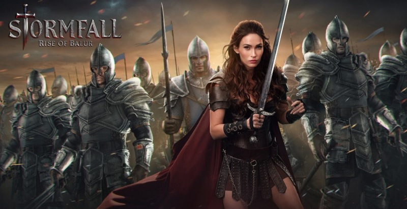Megan Fox plays Amelia Delthanis in Stormfall: Rise of Balur.
