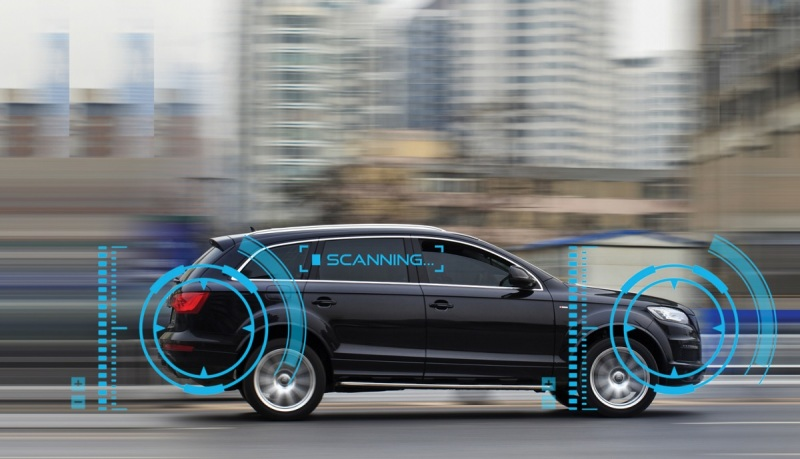 NXP's chips could be used in self-driving cars.