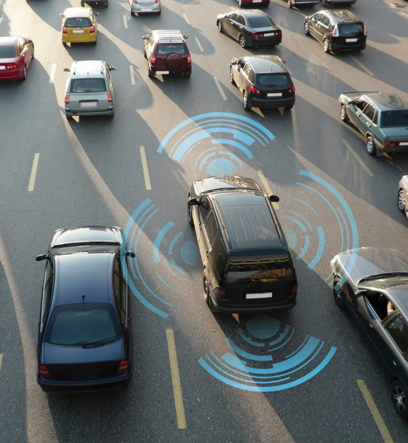 NXP's chips can take data from sensors and process threats to a car.