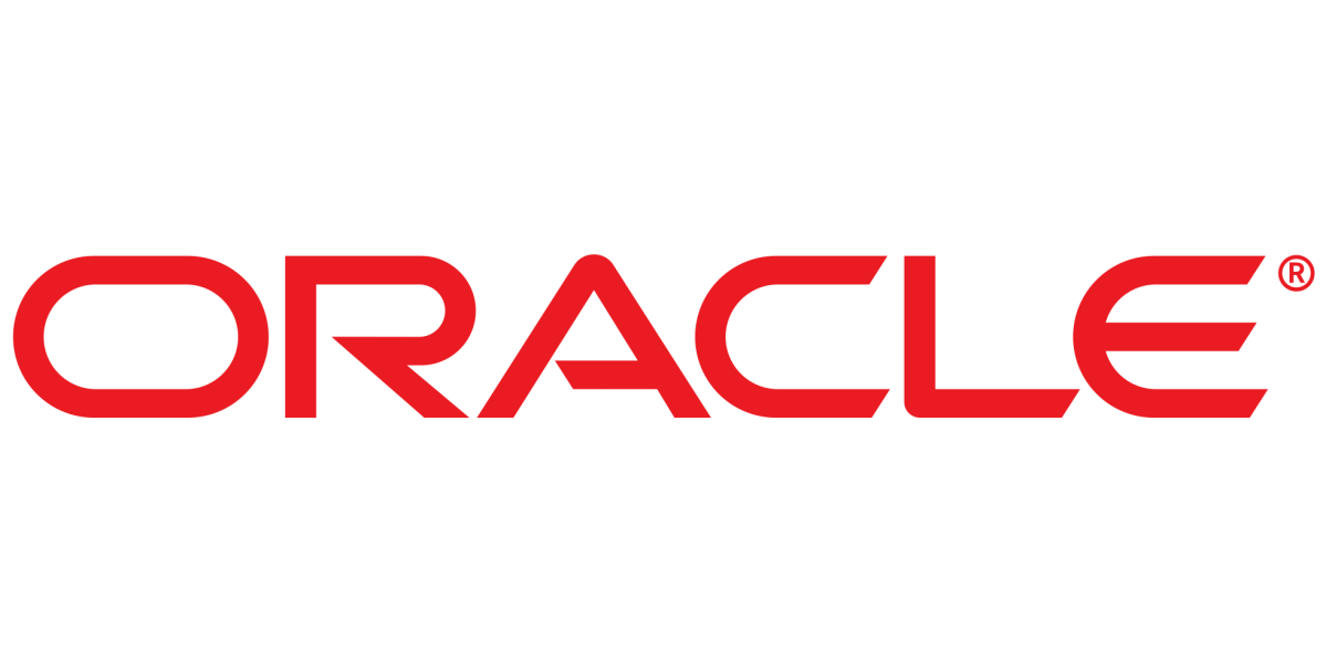This is a screenshot of Oracle's logo