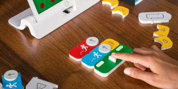 Osmo Coding teaches kids to program using blocks and an iPad