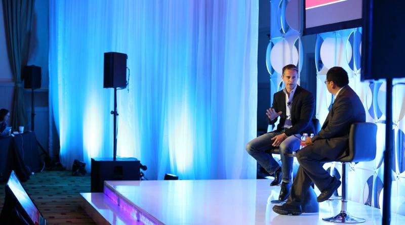 Owen Mahoney, CEO of Nexon, with Dean Takahashi at GamesBeat Summit