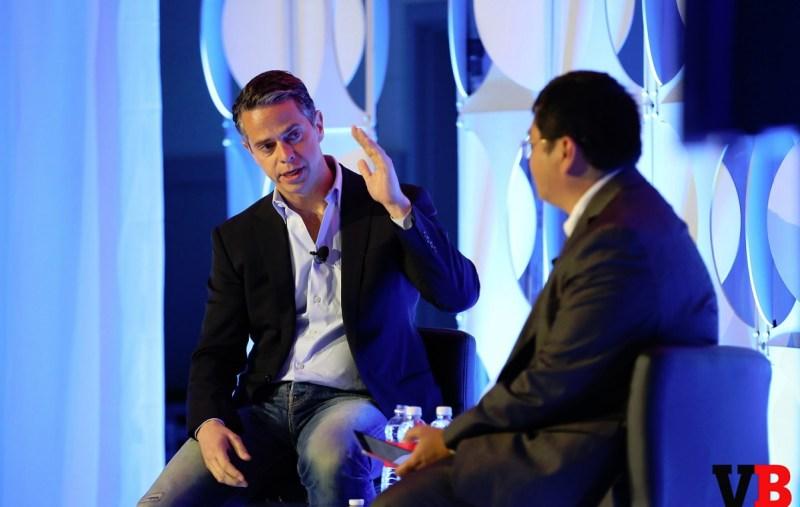 Owen Mahoney, CEO of Nexon, with Dean Takahashi of VentureBeat at GamesBeat Summit.