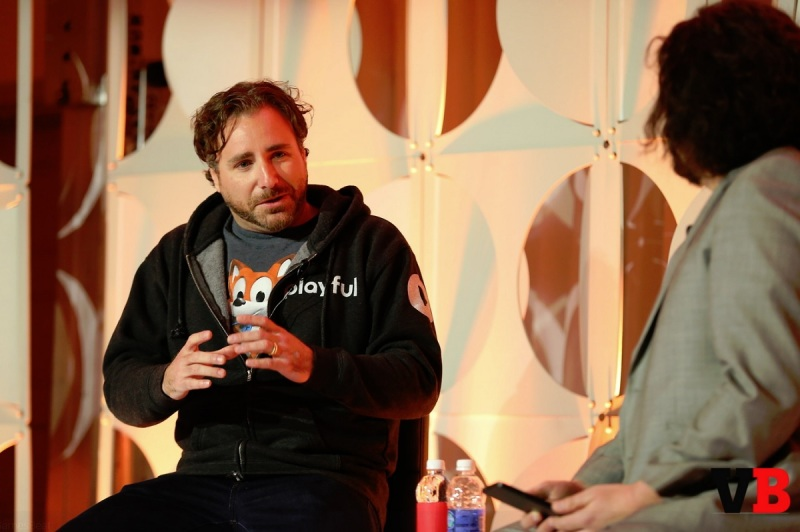 Paul Bettner of Playful and Jeff Grubb of GamesBeat.