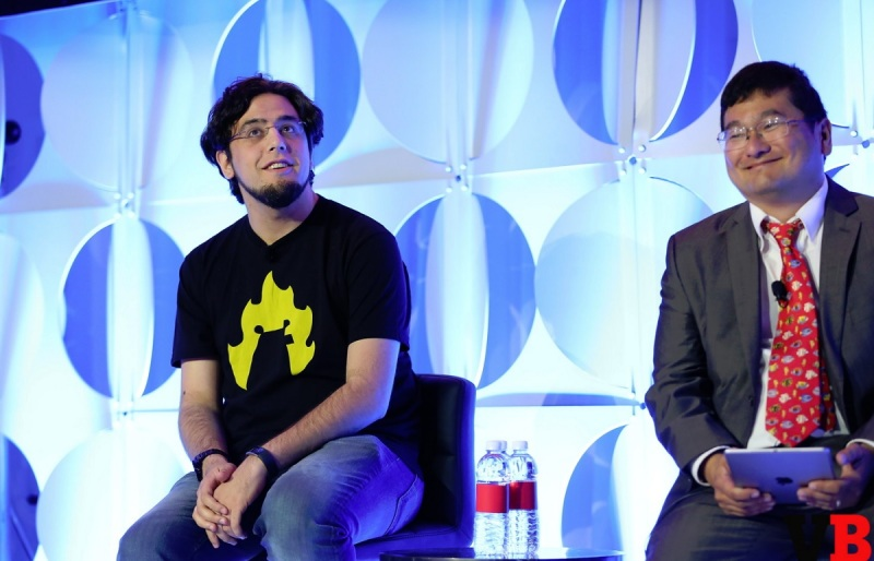 Rami Ismail, a thought leader among indies, talks with Dean Takahashi at GamesBeat Summit 2016.