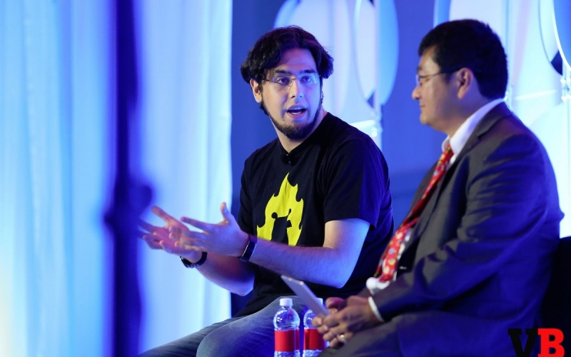 Rami Ismail of Vlambeer talks with Dean Takahashi at GamesBeat Summit 2016.