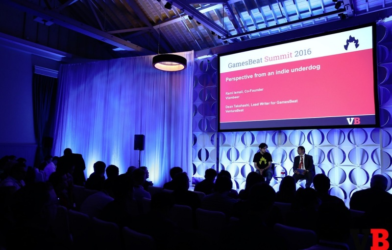 Rami Ismail talked about what indies want from platform owners at GamesBeat Summit.
