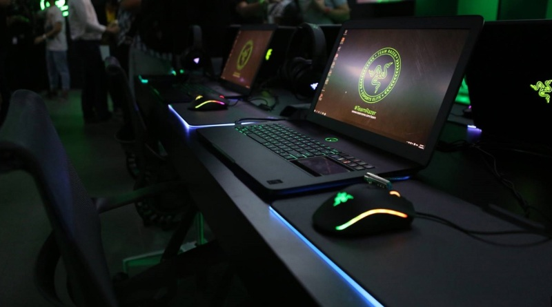 Razer Stores feature Razer-branded laptops and other gear for gamers.