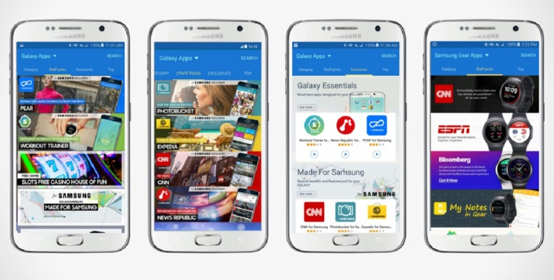 Samsung will promote games across its stores and apps.