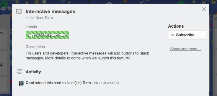 slack message 3