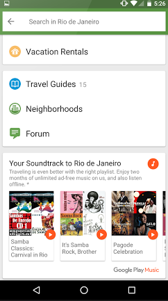 TripAdvisor for Android