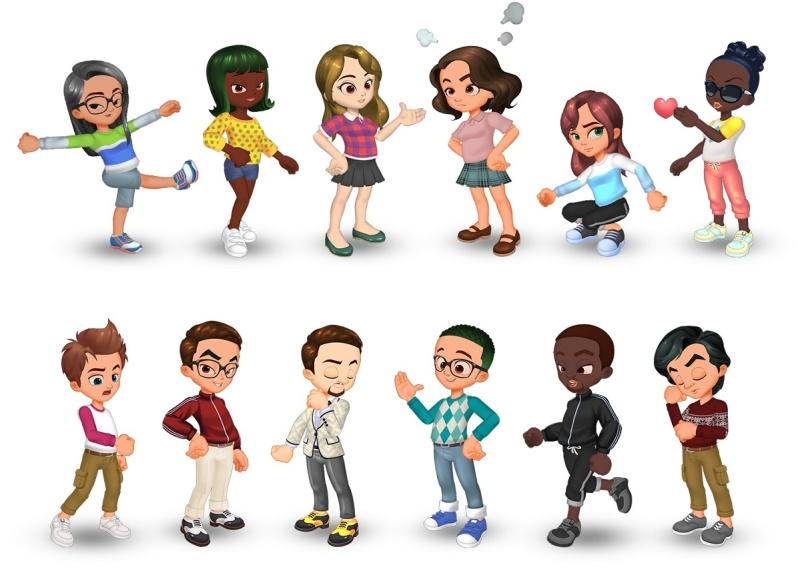 Trendy Town avatars