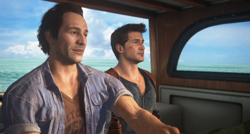 Uncharted 4: A Thief Ends is about Sam (left) and Nathan Drake.