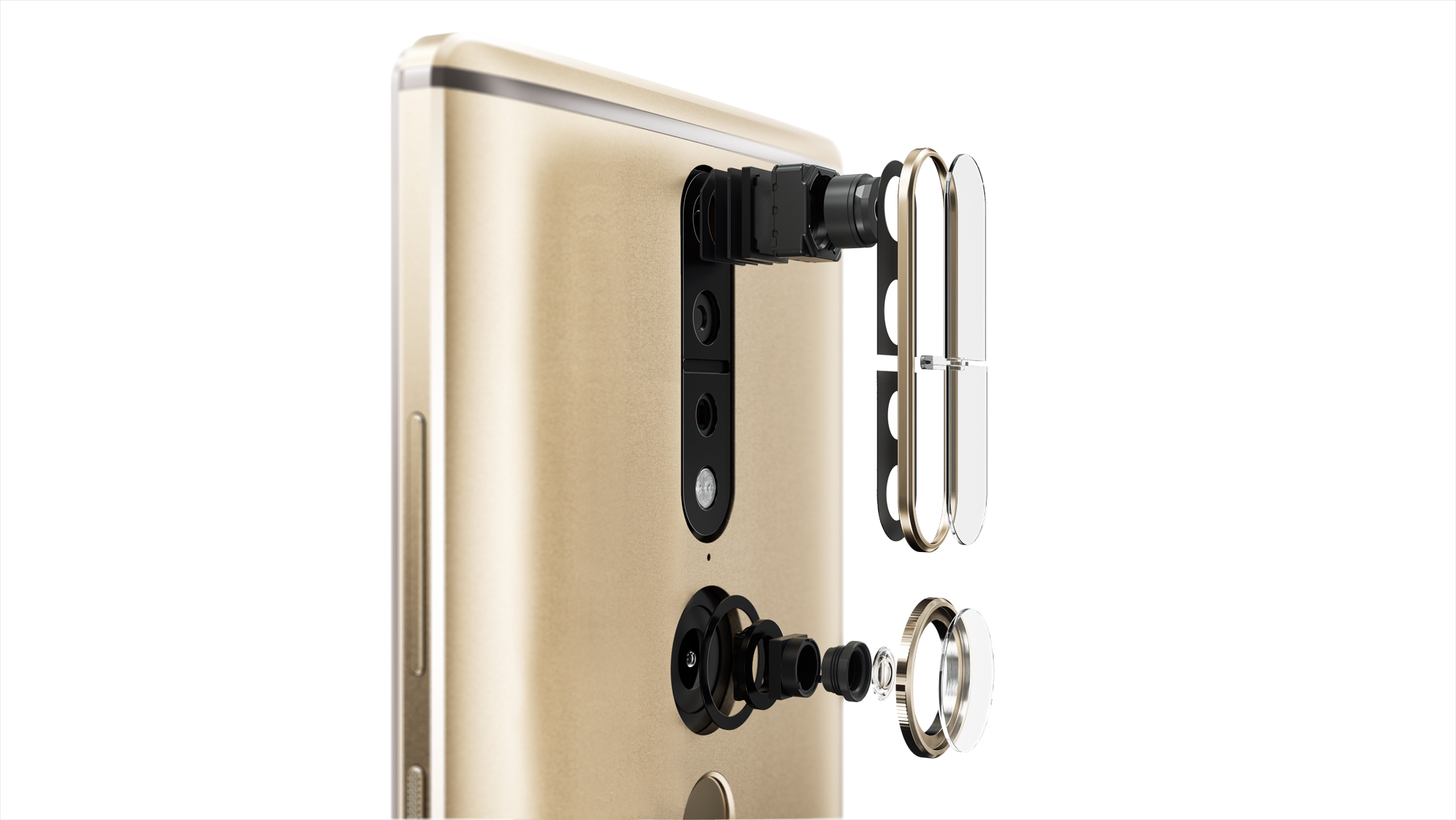 A close-up of the Phab2 Pro.