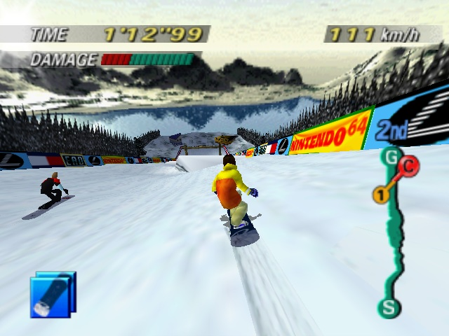 1080 Snowboarding was one of greatest extreme sports games ever.