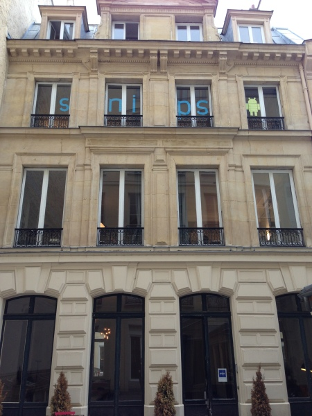 Snips headquarters in Paris.